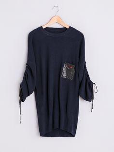 SWETER Z SZEROKIMI RĘKAWAMI - dostępne swetry w Sklepie Tagless