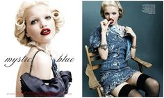 Daphine Groeneveld é a estrela do editorial feito para a Vogue Coréia Abril 2012, os clicks são de Ye Young Kim.
