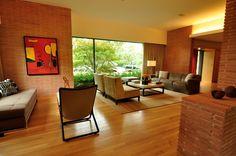 MCM, Nakoma Residence, Dallas, Texas (1951) interior. Howard Meyer, architect.