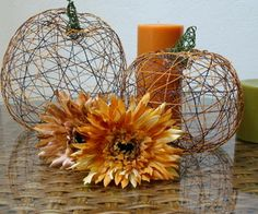 These delicate looking pumpkins are made of thread! Learn how from ukeogh on Instructables.
