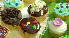 3 Ways to frost cupcakes
