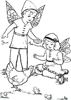 Free Printable fairy coloring pages. Fun and adorable coloring pages for fairy lovers. Fairy Coloring Pages, Free Printables, Toys, Gnomes, Fairies, Journals, Blog, Fun, Activity Toys