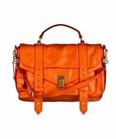 Proenza Schouler PS1 Medium Leather Orange