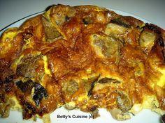 Betty's Cuisine: Ομελέτα με μανιτάρια