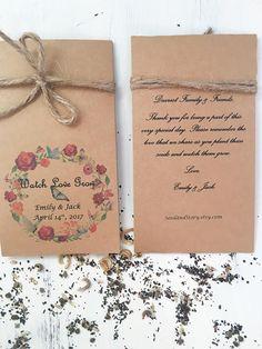 Unique Wedding Favors Seed Vegan Favor