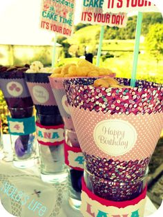 Birthday party ideas DIY #shopkick #summerparty
