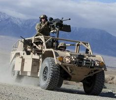 General Dynamics' Advanced Light Strike Vehicle, a variant of the Flyer vehicle, for US Special Operations Command's V-22 Internally Transportable Vehicle (ITV)