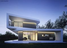 Trapez House by 81.waw.pl. oh!...just kill me now if ur not gonna FIND THE PLAN 4 this...
