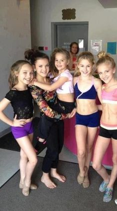Maddie,Brooke,kenzie,Chloe,Paige.....and kelly