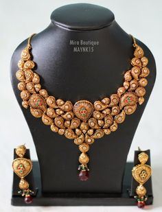 Buy Necklace Jewellery Online for Party and Wedding - #craftshopsindia  #jewellery #necklace