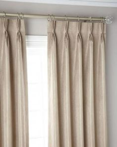 Shop Pinch Pleat Shimmer Curtain Panel 120 and Matching Items from Misti Thomas Modern Luxuries at Horchow, where you'll find new lower shipping on hundreds of home furnishings and gifts. Pinch Pleat Curtains, Striped Curtains, Pleated Curtains, Black Curtains, Rod Pocket Curtains, Velvet Curtains, Panel Curtains, Silk Drapes, Window Drapes