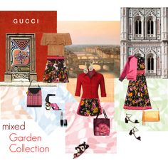 Mixing Gucci Garden Collection with other items by happiestime on Polyvore featuring moda, Gucci, LE3NO, Kat Maconie, Aquazzura, Thumbprintz, NOVICA, HOBO, Emilio Pucci and Sunday Somewhere
