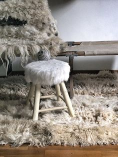 Sheep Rug by MechantStudio on Etsy, €800.00