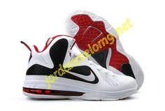 Nike Zoom Lebron IX Sample White Black Variety Red 459764 003 99a2275a5