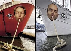 Clever advertisement for noodles, guerilla advertising, outdoor marketing #streetmarketing