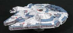 Star Wars Models Created Entirely Out Of Paper