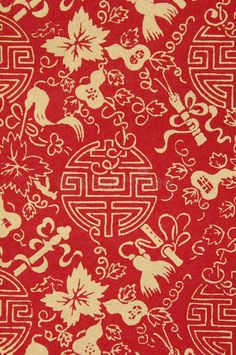 Photo about Traditional Chinese fabric sample in red and dragons. Chinese Design, Asian Design, Chinese Art, Basic Chinese, Chinese Style, Motifs Textiles, Textile Patterns, Print Patterns, Design Chinois