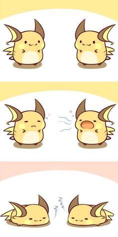 Raichu used Yawn!