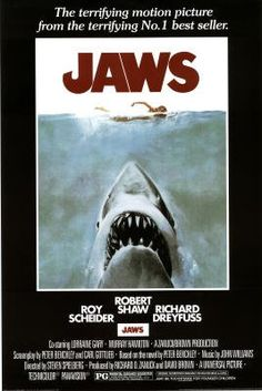 Amazon.com: Jaws Poster Shark in Water Poster Print Collections Poster Print, 24x36 Movie Poster Print, 24x36: Home & Kitchen