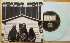 "Image of Crypt Trip: Mabon Songs 7"" white vinyl 56 Copies"