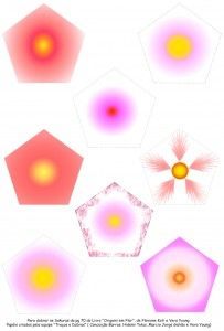 Padrão para dobrar Sakuras - Equipe Traços e Dobras
