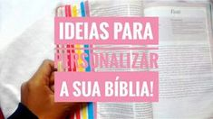 Oi meninas, tudo bem com vocês? Escolher uma Biblia pra comprar nunca é uma tarefa fácil né? Porque a gente não olha só o interior, a versão, o tamanho dá letra, as notas e tals, a gente também gos…
