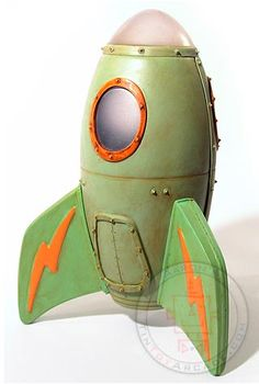 Buy Green Glowing Big Boy Cool Rockets at TinToyArcade.com