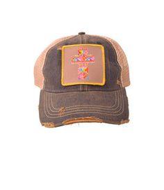 Cross Hat (denim/gold) – DejaVu