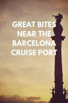 Just because your trip to Barcelona is a quick one—stopping in at the cruise port before moving on to the next stop—doesn't mean you shouldn't make the most of it! If you want delicious food near the Barcelona port, follow our tips and you won't go hungry! #travelhacks #traveltips #tapas #foodie #summertravel #summervibes #barcelona Summer Travel, Us Travel, Barcelona Travel, Cruise Port, We Run, Foodie Travel, Eating Well, Travel Guides, Summer Vibes