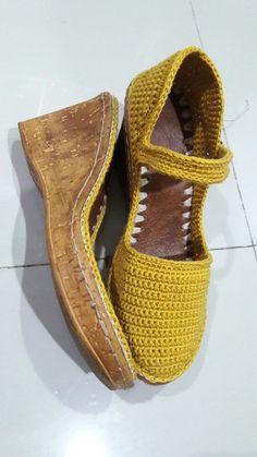 Zapatos tejidos - Knit & Share