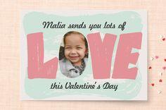 Sending Love Classroom Valentine's Cards by Erica Shepherd | Minted