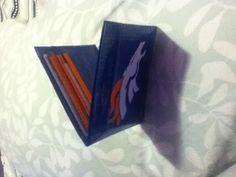 Denver Broncos mens wallet