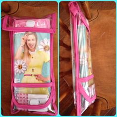 An Origami Owl Take Out Menu and Business Card carrier and holder. Holds 15 TOM's and 15 buisiness cards. See through, clear. Velcro closure so you can easily access. Comes with a hoop so it can be attached to the outside of your purse with a carabiner. Let it advertise for you.