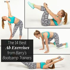 The 14 Best Ab Exercises from Barry's Bootcamp Trainers