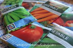 How to plan your garden with this vegetable garden planner. Be prepared for a productive summer!