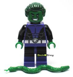 2015-LEGO-DC-UNIVERSE-TEEN-TITANS-BEAST-BOY-76035-MINIFIGURE-BRAND-NEW