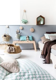 kids room ideas boy and girl shared room Style Deco, Kids Room Design, Deco Design, Little Girl Rooms, Kids Furniture, Furniture Dolly, Playroom Furniture, Furniture Storage, Kid Spaces