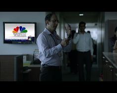 Catching up with the latest business news on TV with CNBC? (Red Tag!)