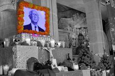 Altares de Palacio de Gobierno en el Palacio de Gobierno.  Foto: Alejandro Alanis