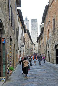 San Gimignano, Florence_ Italy
