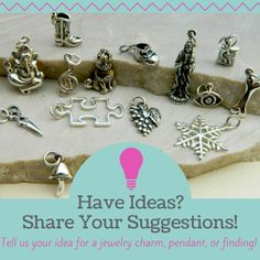 We want to hear your suggestions!  Add them to our suggestion box HERE :: http://www.ninadesigns.com/company/suggestions.html