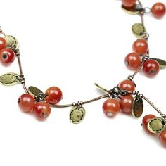 2015 New Fashion Hot Selling Wholesales Star Necklace Beautiful Red cherries Necklace(Red) 66N116-in Pendant Necklaces from Jewelry on Aliexpress.com | Alibaba Group