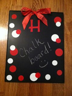 DIY chalk board for kids rooms or kitchen
