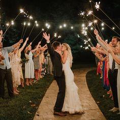 Epic Wedding Exit From T K Photography Tennesseewedding Southernwedding Weddingexit Wcvendor Weddingphotography