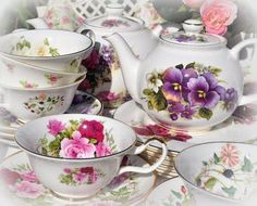 Bring your favorite tea cup and saucer.