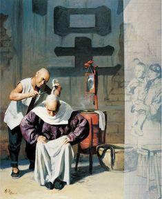 Norman Mills Price (1877 – 1951, American)  El misterio de Cai Liang – 蔡亮