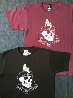 パウンからスカルレディTシャツが入荷しました。本体価格¥4,200(+tax)