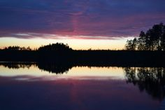 The black and purple by Kuvei.deviantart.com. Kuhmo, Finland.