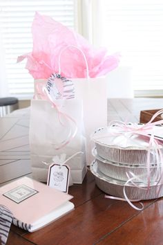 New baby gift and meal- baby girl!