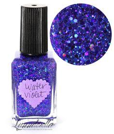 Lynnderella Limited Edition Nail Polish—Water Violet #Lynnderella